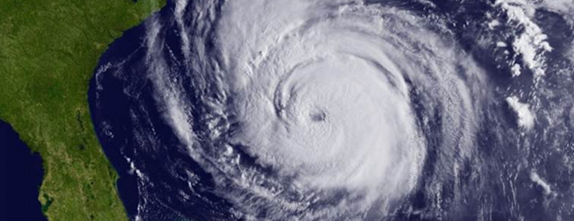 Hurricane Earl satellite image