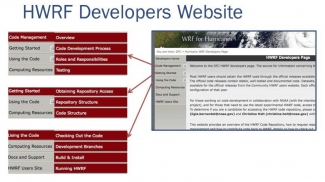 HWRF developers website