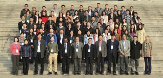 Typhoon Symposium and HWRF Tutorial--Nanjing, China group photo .