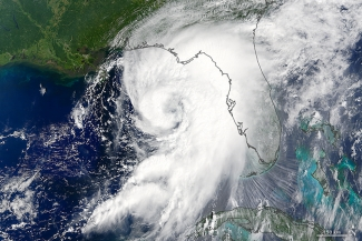 Hurricane Hermine August 2016. first hurricane to make landfall in Florida since 2005.