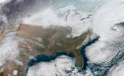 NOAA's GOES-16 satellite captures powerful East Coast storm